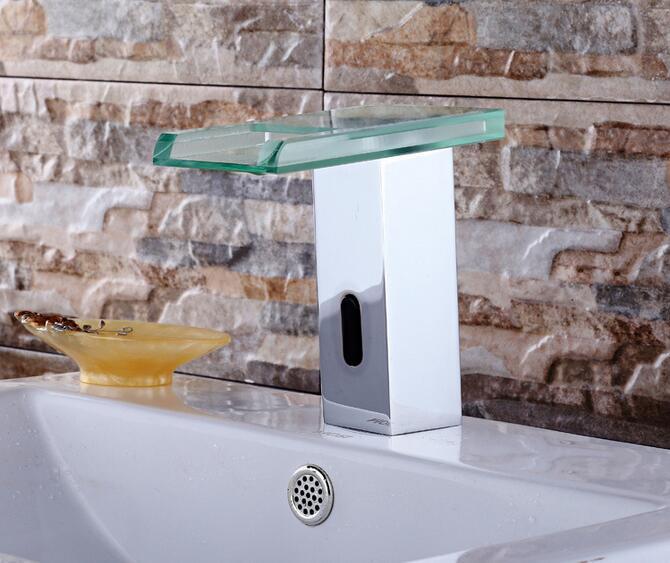 Digital Touchless sensor led Basin faucet auto digital faucet mixer Basin Bathroom faucet sink faucet Tap Torneira - 4