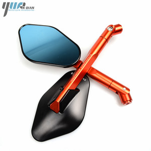 Image 4 - Universal CNC Motorcycle Mirror Side Rearview Mirror For Triumph BONNEVILLE TIGER 800 1050 SPEED TRIPLE tt600 SCRAMBLER AMERICA