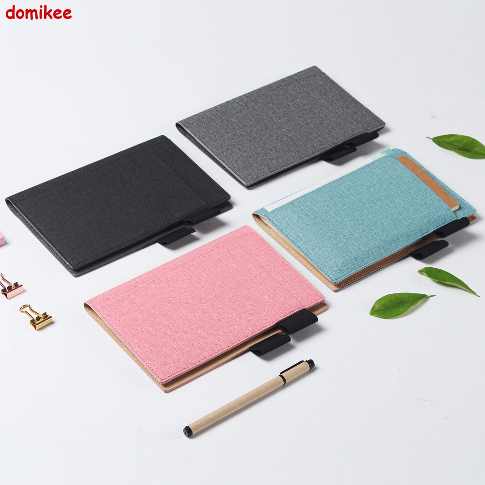 Domikee Classic fabric hardcover cover fitted travel journal notebook stationery,fine portable office school note pad gift B6 domikee classic fabric hardcover cover fitted travel journal notebook stationery fine portable office school note pad gift b6