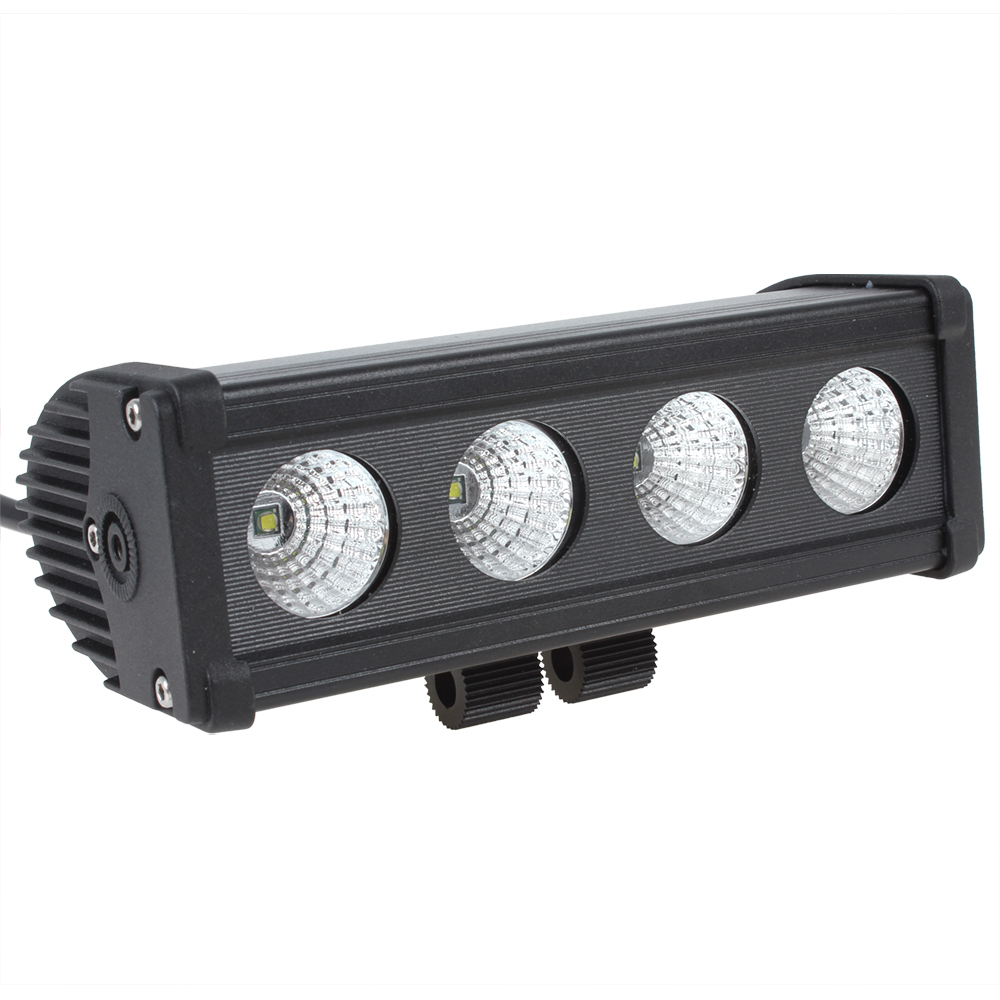 40W 3000LM Offroad Cree LED Work Light Bar Waterproof Off road Car LED Work Lamp Flood / Spot Light for Boating Hunting Fishing