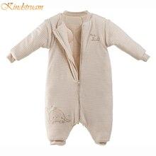 2016 100% хлопок ребенка спальный мешок весной полосатый 0 — 2 лет дети пижамы младенцев осень стрэддл спальные мешки, Hi209