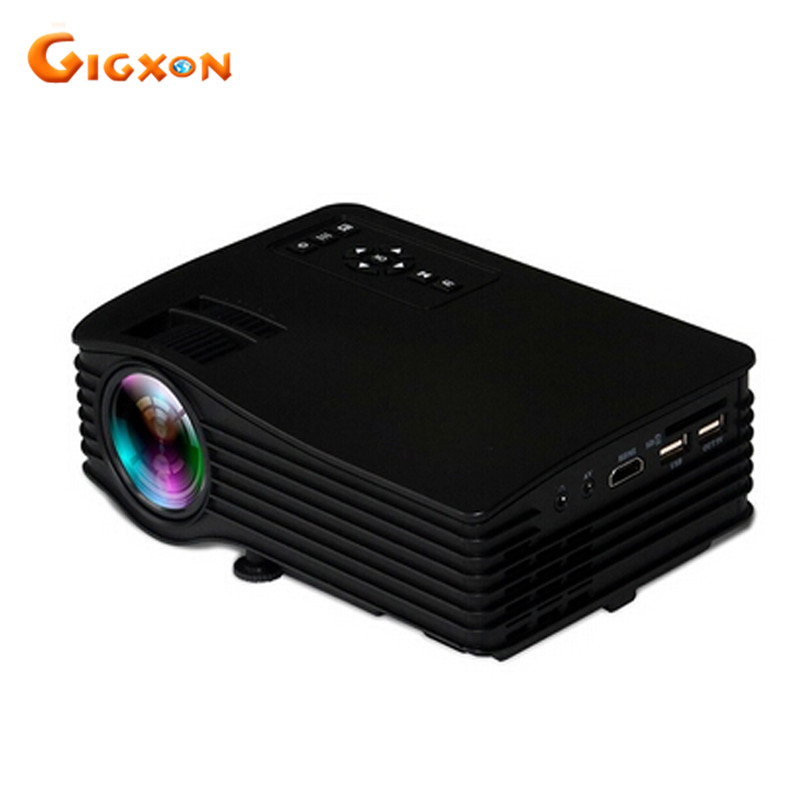 Gigxon G036 New portable projector LED projector 640 480 home cinema projector UC36