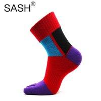 12pcs 6pairs Men Brand Socks Five Finger Toe Socks Winter Dress Socks For Men Skate Sports