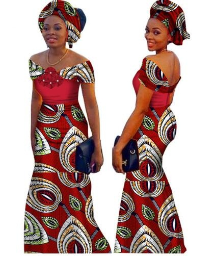 e66a073a7 African Dresses For Women Time-limited Top Fashion Cotton 2019 African  Print Dress, Long Fashion Women Clothing