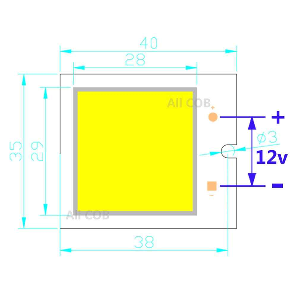 small resolution of  hot sale mix square led cob strip 40 35 40 20 36 26