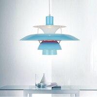 pendant lamps modern minimalist pendant light aluminum Denmark design lamp pendant lighting Louis Poulsen PH5