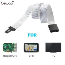 48CM TF Transfer SD Flex Extension Cable Memory Card Extender Cord for GPS DVD DVR