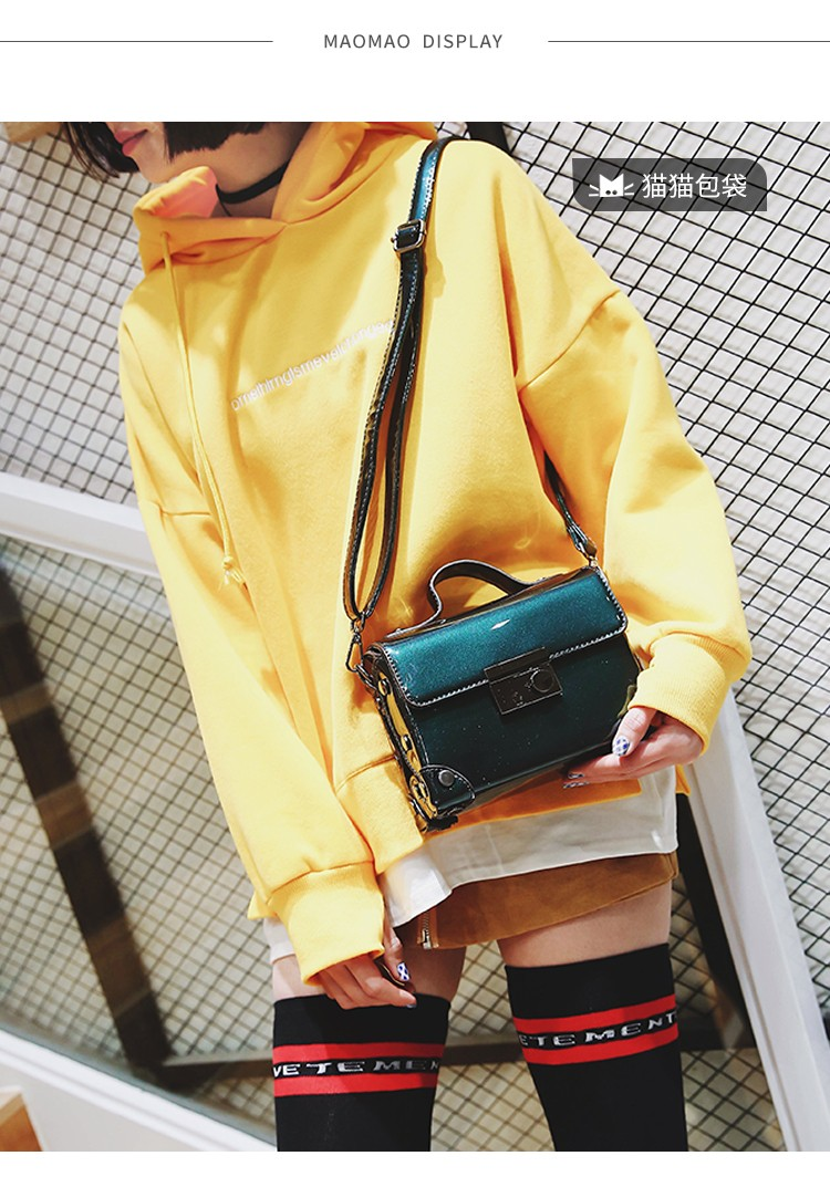 Brand Fashion Casual Women Shoulder Bags Silver Gold Patent leather Handbag PU Leather Female Big Tote Bag Ladies Hand Bags Sac 8