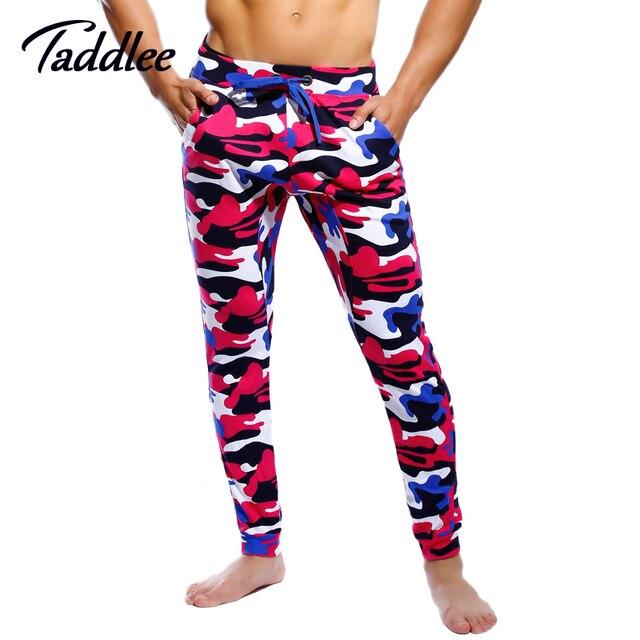 Taddlee marca de los hombres largos pantalones jogger activo pantalones holgados harem larga pantalones pantalones militares pantalones de cintura baja sexy