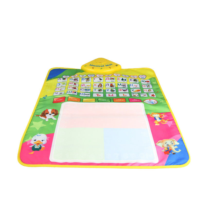 Baby Toy Rug: ᐂRussian Alphabet Play ⑦ Mat Mat Baby Crawling Carpet