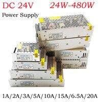 LED Transformer DC 24V Power Supply Led Strip Lights AC DC 110V 220V To1A 2A 3A