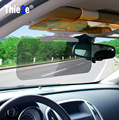 New Car Sun Visor HD Car Anti-Glare Dazzling Goggle Day Night Vision Driving Mirror UV Fold Flip Down HD Clear View Visor