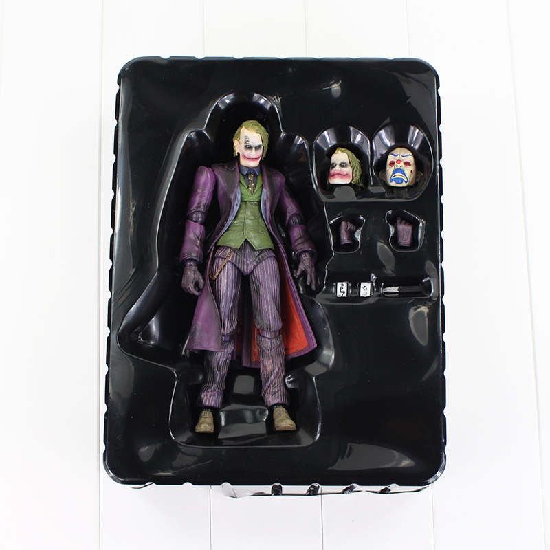 New Anime Hero DC Batman The Joker Arkham Origins PVC Action Figure Collectible Model Toys With Box 22cm neca dc comics batman arkham origins super hero 1 4 scale action figure