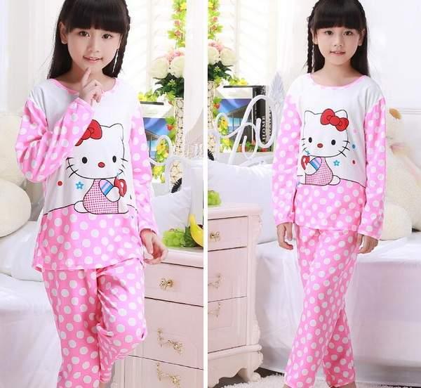 5fed1b32961d Online Shop 2-12T Student Kids Girls Pajamas Sets Princess ...