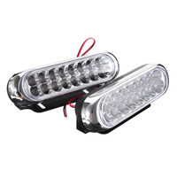 2pcs Set SMD Led Auto Car DRL LED Daytime Running Light Fog Driving Lights Lamp External