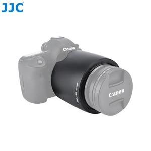 Image 5 - JJC LH 83F черный Бленды для объективов Тенты для Canon EF 24 70 мм f/2.8L USM бленда Заменяет Canon EW 83F