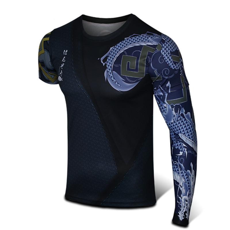Game OW Hanzo Printed Men's t shirts 3D Short Sleeve Casual Fitness Shirts