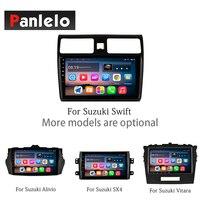 Panlelo Android для Suzuki SX4 Alivio Свифт Vitara зеркало Llink Сенсорный экран Bluetooth громкой связи рулевого колеса Управление