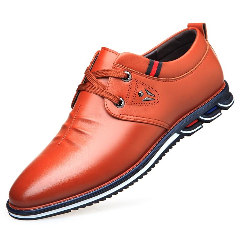 De VéritableHomme Conduite Cuir Mocassins Décontracté 2 Main Da069 Appartements Chaussures Pour Nouvelle Doux 1 Comforable Hommes EWDH9eb2IY