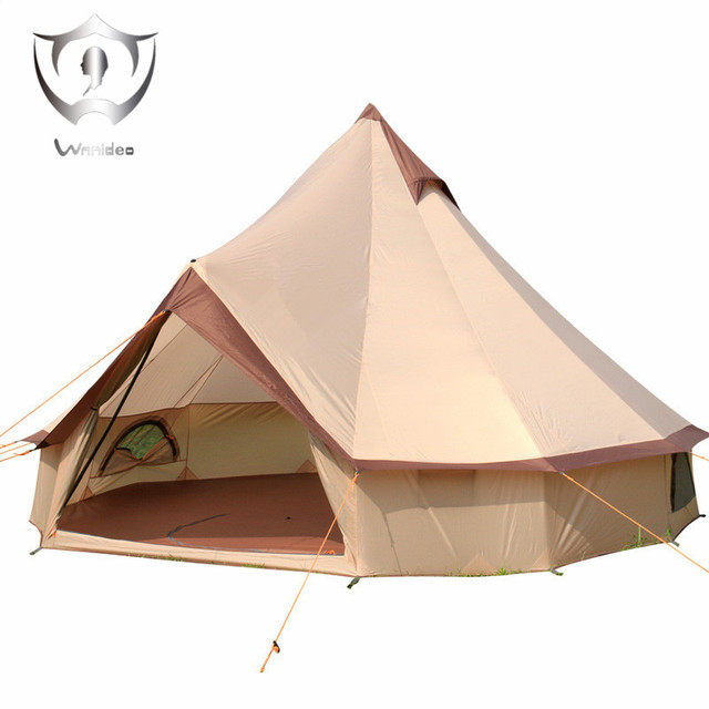 Wnnideo Cotton Canvas Bell Tent Waterproof tipi tent with Stove Jacket on the wall big tent  sc 1 st  AliExpress.com : big canvas tents - memphite.com
