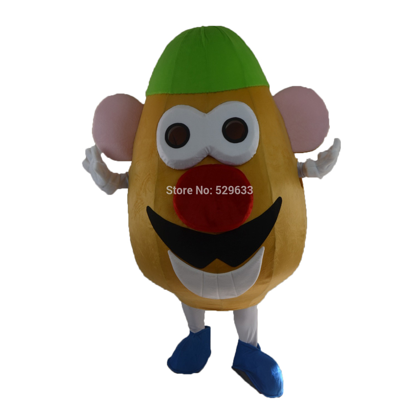 ขายส่งร้อนMr. potatoมิ่งขวัญโฆษณาเครื่องแต่งกายมิ่งขวัญเครื่องแต่งกายขนาดผู้ใหญ่