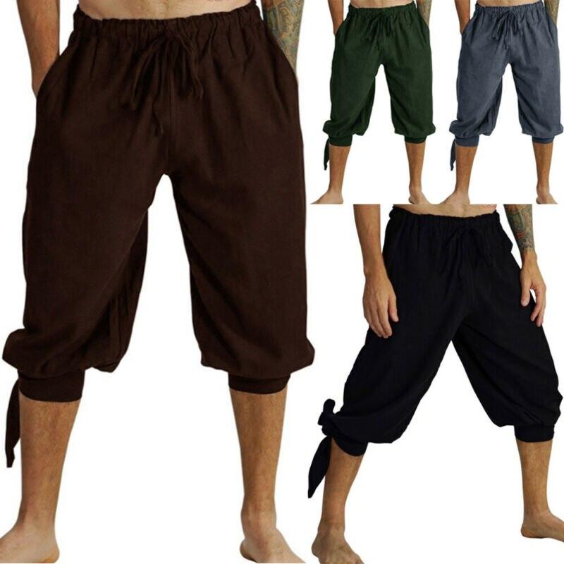 De los hombres de verano Casual de deporte de carga general pantalones cortos pantalones de chándal Pantalones sueltos