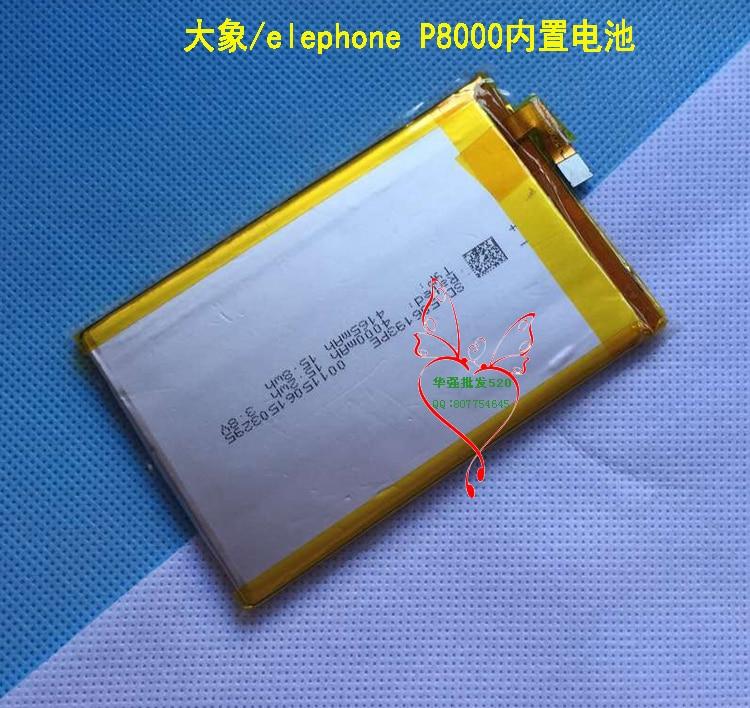 Original <font><b>Elephone</b></font> <font><b>P8000</b></font> <font><b>Battery</b></font> 4165mAh For 5.5inch <font><b>Elephone</b></font> <font><b>P8000</b></font> Cell Phone FREE SHIPPING with Tracking Number