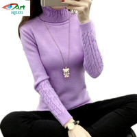 JQNZHNL Women Turtleneck Winter Sweater Women 2018 Long Sleeve Knitted Women Sweaters And Pullovers Female Jumper