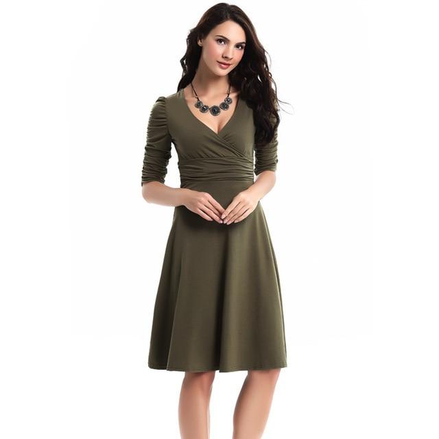 1e2fc3129654e Vintage Skater Pencil Dresses For Women Plus Size XXL XXXL Short ...