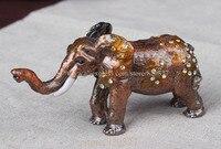 Fil Biblo Kutusu Eleman Kristaller Takı ile Hap Kutusu Luck Küçük Sevimli Fil Biblo Kutusu Kristaller Mücevher kutusu güzel hediye
