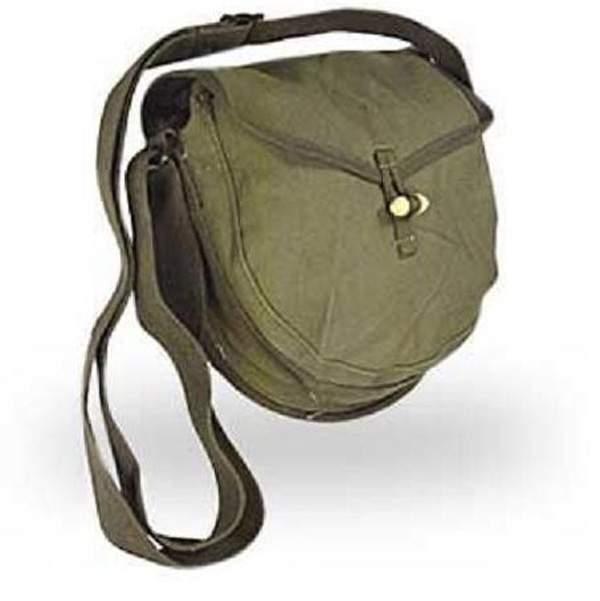 Surplus Vietnam War Chinese Military Drum Magazine Pouch Messenger Ammo Bag - CN022
