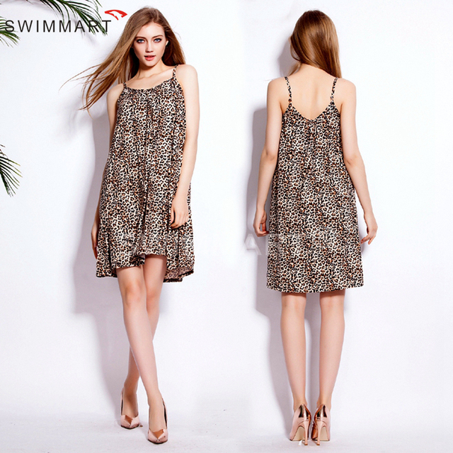 9477482648b695 Spring Summer Autumn 2016 Slim Fit Pattern Adjustable Spaghetti Straps Women  Cotton Sleeveless Dress