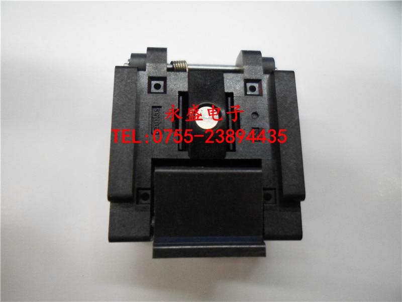 ФОТО Imported IC test socket burning seat QFN24 MLF24 24QN50S14040 4MM*4MM -FREESHIPPING