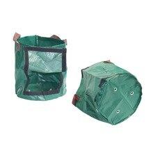 Bolsas de cultivo de patatas tejidas, bolsas de cultivo para jardín de verduras, macetas, herramientas para granja de jardín para el hogar, 6 uds
