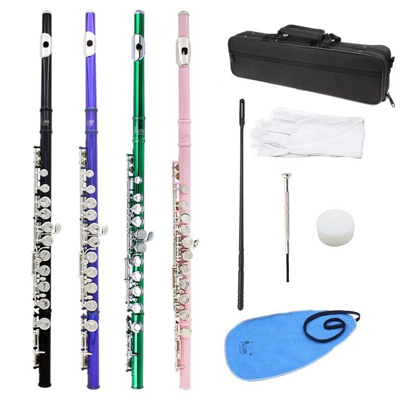 Слейд Мельхиор CTone 16 закрытые отверстия концертная группа флейта для студентов начинающих 4 цвета доступны