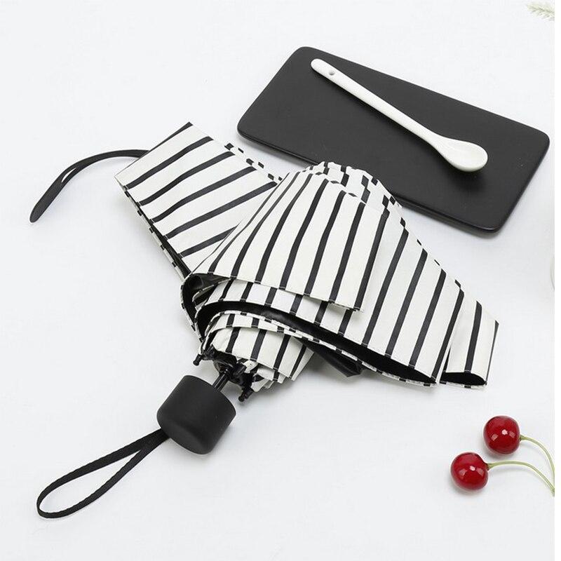 Taschenschirm Kreative Niedlichen Mini Compact Falten Leichte Reisetasche Regenschirm Regen Wasserdicht/Uv-schutz