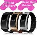 Monitor de presión arterial de smart watch smartwatch bluetooth monitor de ritmo cardíaco smartband ck11 elegante pulsera de la venda de deportes para los hombres nuevos