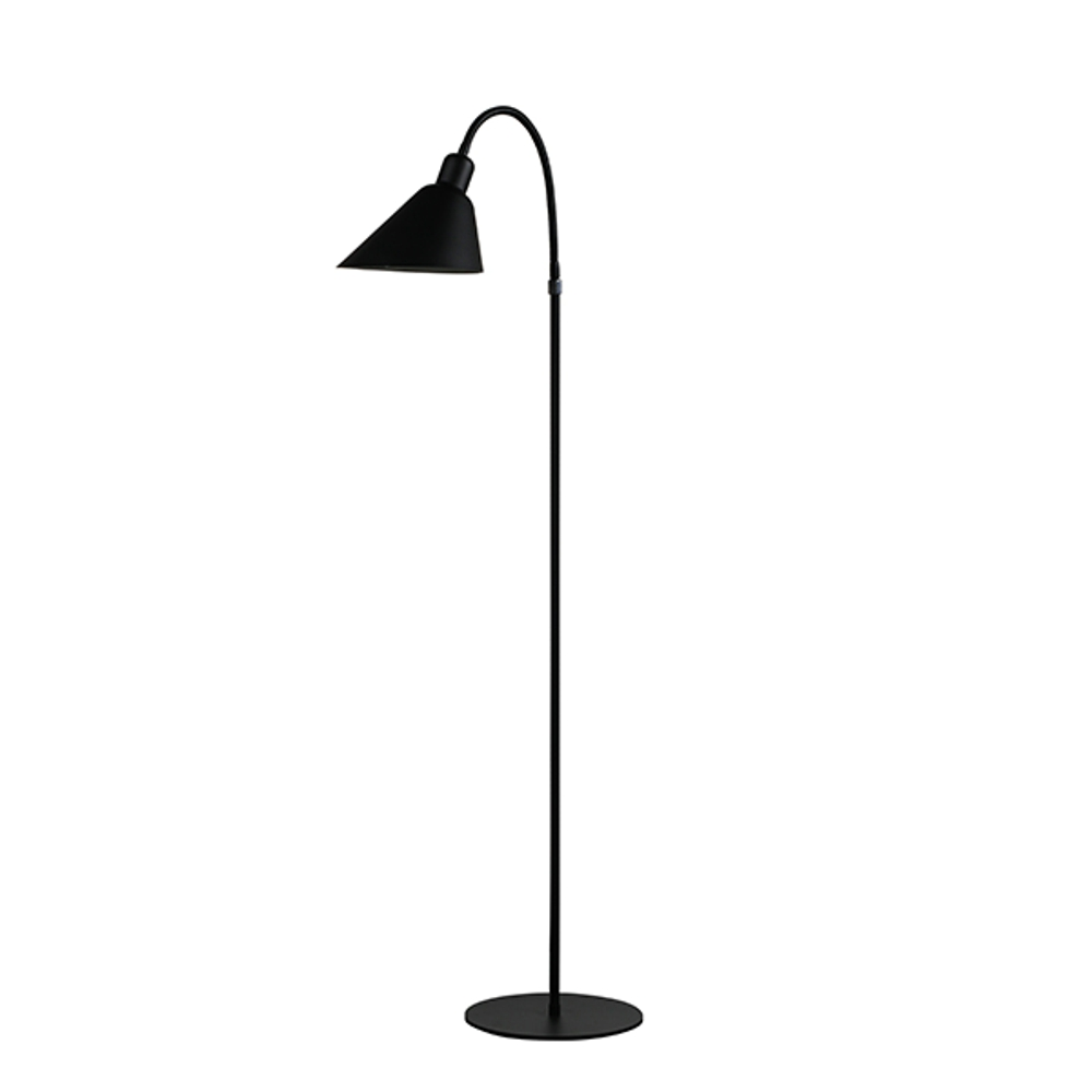 Modern lamp lighting Arne Jacobsen Bellevue AJ2 Floor Lamp in bedroom aj lamp