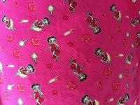 100*170 cm Sexy ROUGE Betty Tricoté coton tissu pour Patchwork Évolutive cartoon tissu DIY Couture bébé fille garçon chemise vêtements
