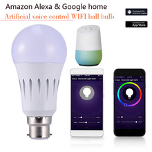 Wifi Bulb LED Smart Bulb Varying Dimmable Light Voice Remote Control Works with Amazon Google JA55