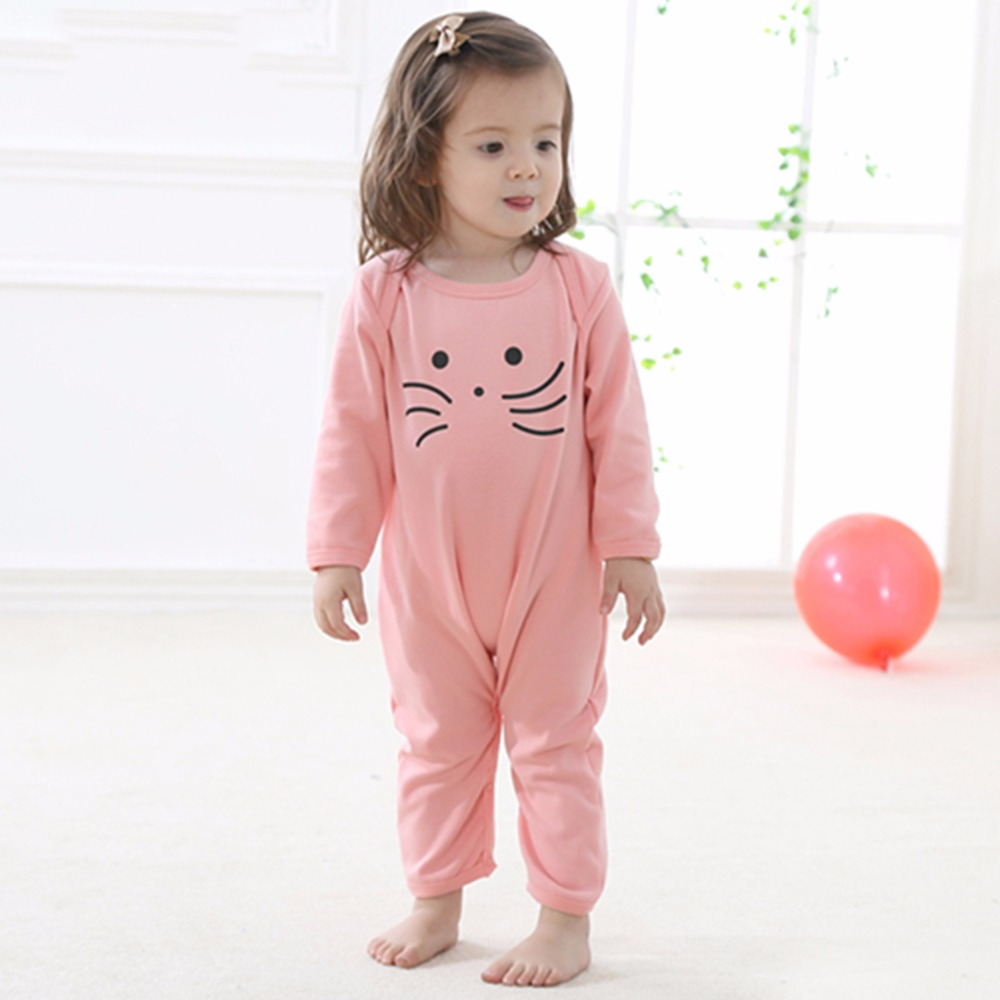Long Sleeve Infant Jumpsuits Newborn Baby Girls Clothing Baby Girl Romper Clothes