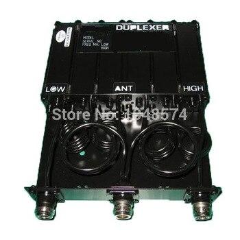 Бесплатная доставка ретранслятор 30 Вт 150 МГц 6 полости VHF Duplexer N гнездовой разъем