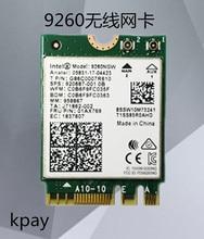 Double bande sans fil AC 9260NGW NGFF 1.73 Gbps 802.11ac carte WiFi + Bluetooth pour Intel 9260 8265NGW 7260AC NGFF 2.4G/5G Gaming Wlan