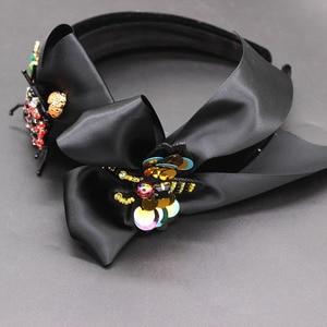 Image 5 - Serre tête Baroque, exagéré, sauvage, accessoires pour cheveux, arc dabeille, nouveau, serre tête boule de mode, 594