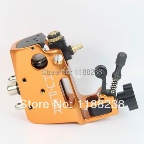 High Quality Professional Stigma Hyper V3 CNC Rotary Tattoo Machine Orange Aluminium Alloy tattoo gun Liner&Shader Free shipping free shipping high quality new aluminium alloy draw gauge professional leather strap cutter hand cutting tool
