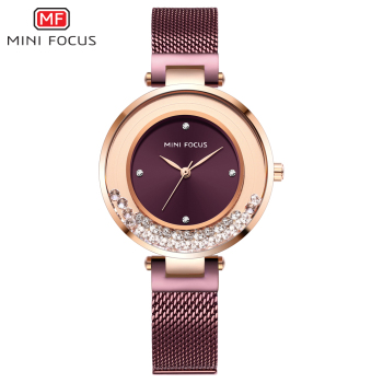 Ladies Watch MINIFOCUS Watches Women Quartz Lady Wrist Watch Dress Women's  Wristwatch Brand Luxury Fashion Relogio Feminino 1