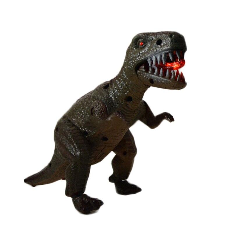 1 Pcs Music Tyrannosaurus Toys Electric Simulation  Model Luminous Dinosaurs