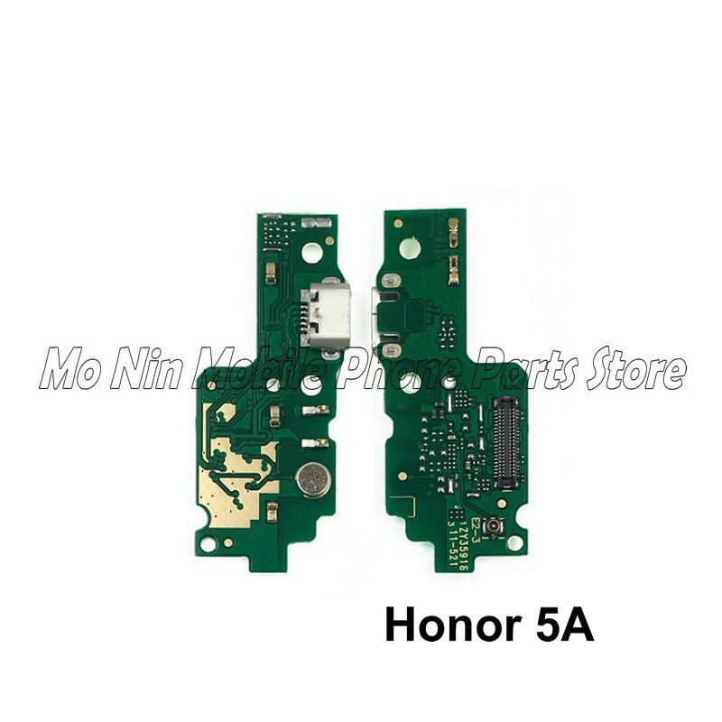 New Microphone Module+USB Charging Port Board Flex Cable Connector Parts For Huawei Honor Play 5A 5C 5X Replacement