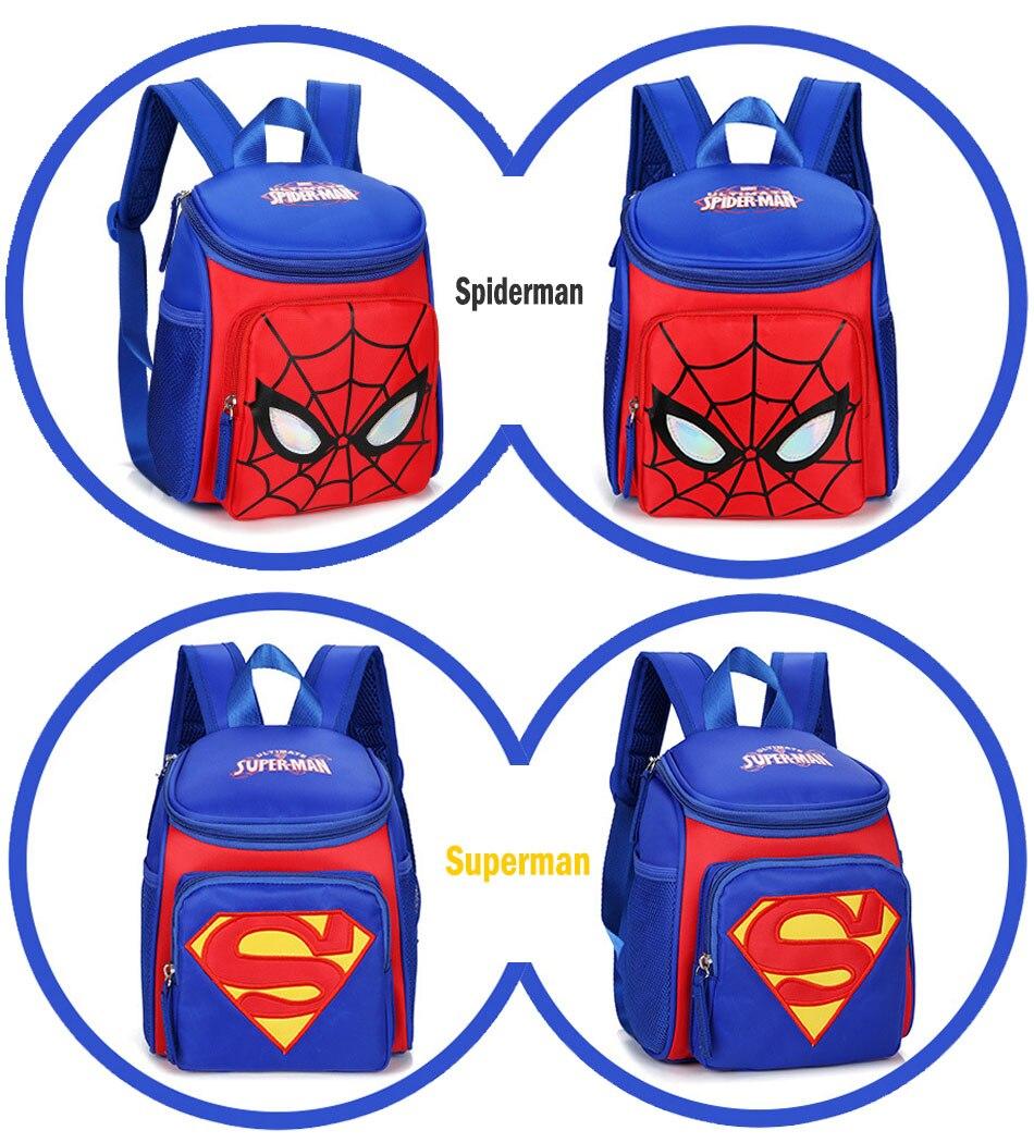 My little pony School bags for Toddler Kids Cute Children Mini Hello Kitty schoolbag Cartoon orthopedic Backpack for boys girls (7)