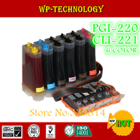 CISS for PGI220 CLI221 , PGI 220 CLI 221 for CANON PIXMA MP980 CISS ,6 color,Full ink ,with ARC chip